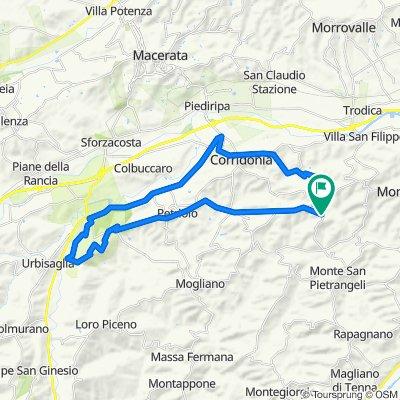 Da Via Campiglia Bassa 8, Monte San Giusto a Via Campiglia Bassa, Monte San Giusto
