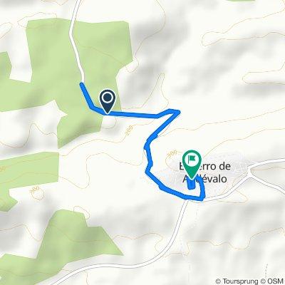 De HV-1421, El Cerro de Andévalo a Barriada Iv Centenario H. de San B. Abad 2, El Cerro de Andévalo