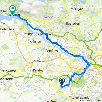 10 Catrine Pl, Glasgow to 4 Clyde View Ct, Glasgow