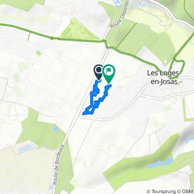 Itinéraire vers Rue de la Croix Blanche, Buc