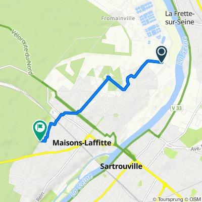 La Frette-sur-Seine Cycling
