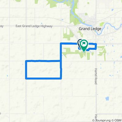 Millstone Drive 11711, Grand Ledge to Fieldview Drive 4286, Grand Ledge