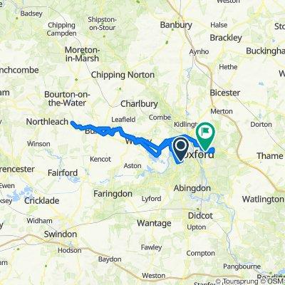 Chawley Lane, Cumnor to Franklin Road 48