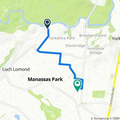 7401–7409 Albemarle Dr, Manassas to 185 Martin Dr, Manassas Park