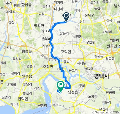 Seotan-myeon 383-52, Pyeongtaek to Paengseong-eup 85-132, Pyeongtaek