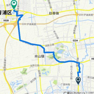 Guangfulin Road 1518 Long No.482, 497, Shanghai to Qingzhu Road, Shanghai