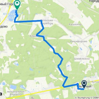 От Щемилово до Unnamed Road