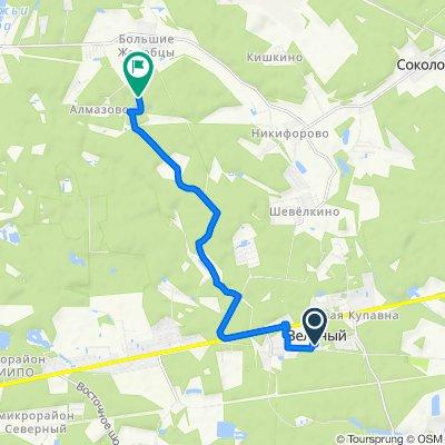 маршрут с Щемилово