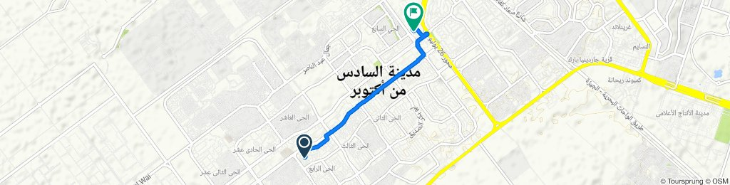 Unnamed Road, First 6th of October to Al Salam Road 211, First 6th of October