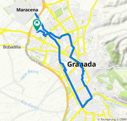 De Calle Periodista Luis Seco de Lucena 3, Granada a Calle Periodista Luis Seco de Lucena 3, Granada