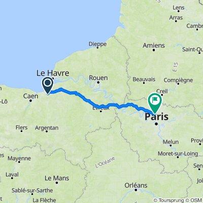 De 20 Route de Branville, Danestal à 33 Rue Charles de Gaulle, Deuil-la-Barre