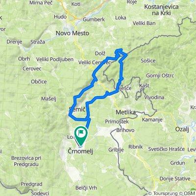 Črnpmelj - Trdinov vrh