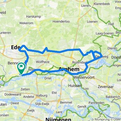 Posbank vanuit Wageningen