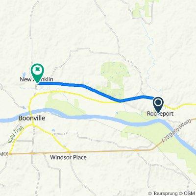 201–499 Third St, Rocheport to Katy Trail, New Franklin