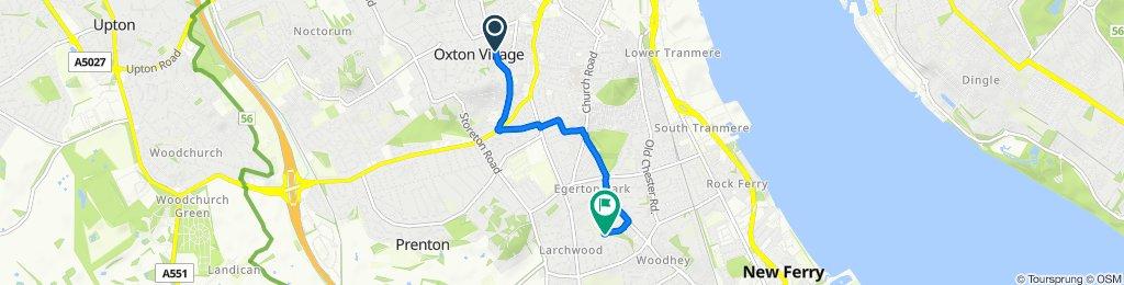 8–38 South Hill Road, Prenton to 64 Princes Blvd, Wirral