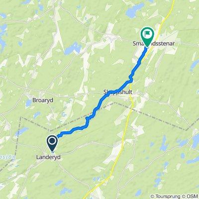 Tovhultsvägen 2 nach Tallgatan 12