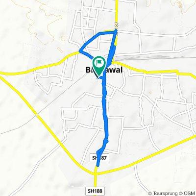 Unnamed Road, Bhusawal to Unnamed Road, Bhusawal