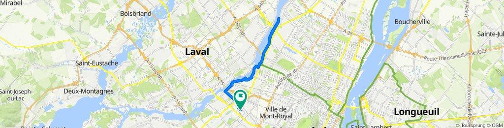 De 1671 Rue Millar, Montréal à 1671 Rue Millar, Montréal