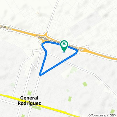 De Los Robles, General Rodríguez a Asturias, General Rodríguez
