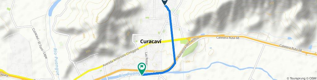 De Luis Cruchaga 750, Curacaví a Autopista del Pacífico, Curacaví