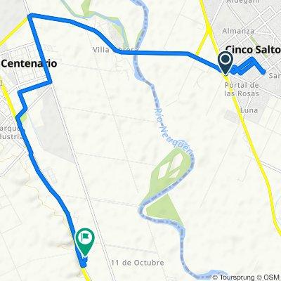 Moderate route in Confluencia