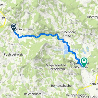 Kontrollstrecke Unterfeistritz - St. Johann /Herberstein