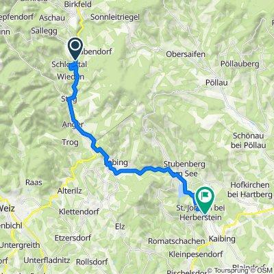 Radscouts Kontrollstrecke Feistritztalweg