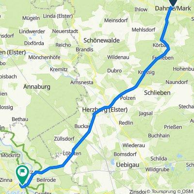 Geschwister-Scholl-Straße 16, Dahme/Mark nach Kurstraße 9, Torgau
