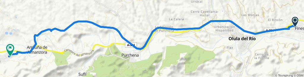 De Calle la Puente 28, Fines a Calle Impossa 88, Tíjola