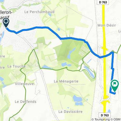 De 174 Rue Principale, Mouilleron-le-Captif à 12 Impasse René Fonck, La Roche-sur-Yon