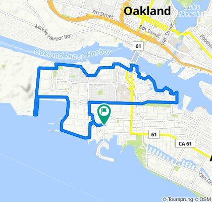 Alameda- Naval Base - Alameda CC Bike Path