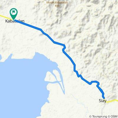 Central kabasalan to Siay