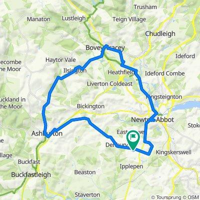 Dartmoor Bovey Tracey
