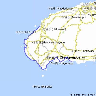 KOR Hallim - Jungmun Harbour