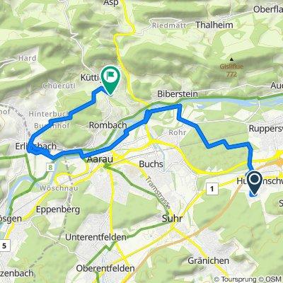 Lenzburg - Erlinsbach (SO)