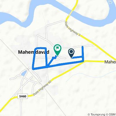 Mamlatdar Road, Mahemdavad to Unnamed Road, Mahemdavad