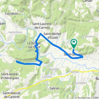 De 31 Chemin des Célettes, Saint-Gervais à 31 Chemin des Célettes, Saint-Gervais