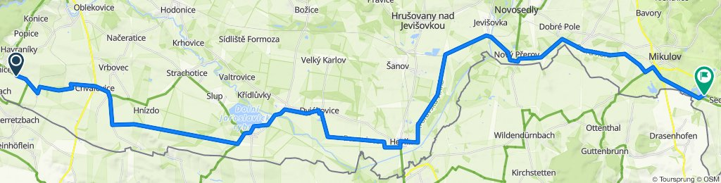 2020_09_16 Šatov - Sedlec u Mikulova