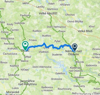 2020_09_20 Náměšť nad Oslavou - Třebíč