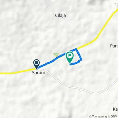 Jalan AMD Lintas Timur 16, Kecamatan Kaduhejo to Sukaratu, Kecamatan Majasari