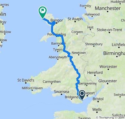 Itinéraire à partir de Zenith, Herbert St, Cardiff