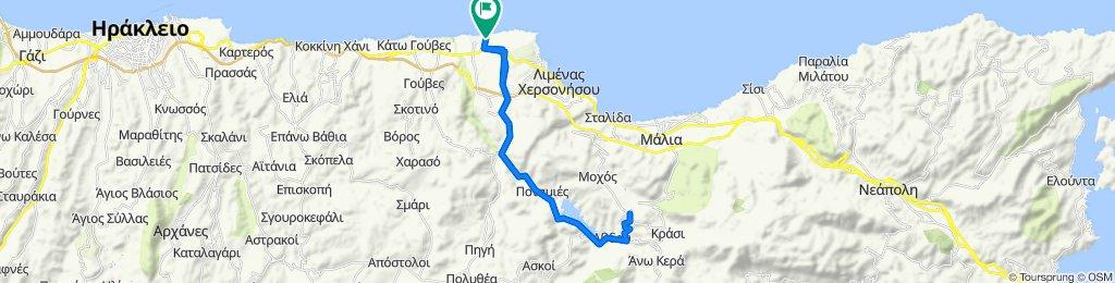 Lyttos test triathlon Olympic triathon cycling distance
