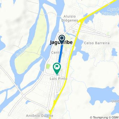 De Avenida Távora, Jaguaribe a Rua Maria Tavares Pinheiro, 2–94, Jaguaribe