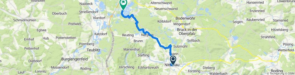 Jahnweg 18, Nittenau nach In der Oder 2, Steinberg am See