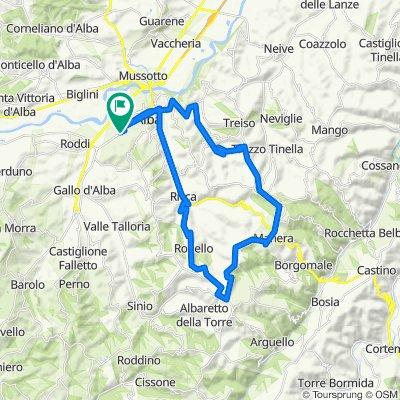 LANGHE 1: anello Alba – Benevello – Tre Croci – Rodello – Alba