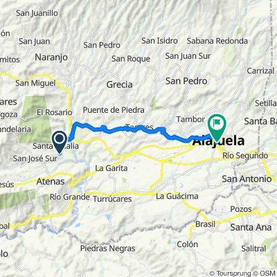 716, Santa Eulalia to Alajuela