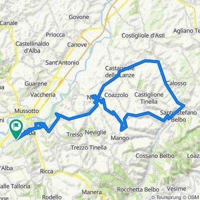 LANGHE 3: anello Alba – Neive – S. Stefano Belbo - Neive – Alba