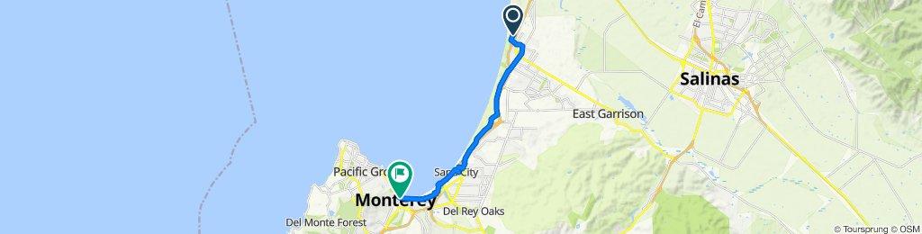 3262–3304 Dunes Dr, Marina to 290 Figueroa St, Monterey