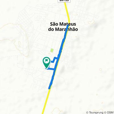 De Quicau, 252–354, São Mateus do Maranhão a Quicau, 252–354, São Mateus do Maranhão