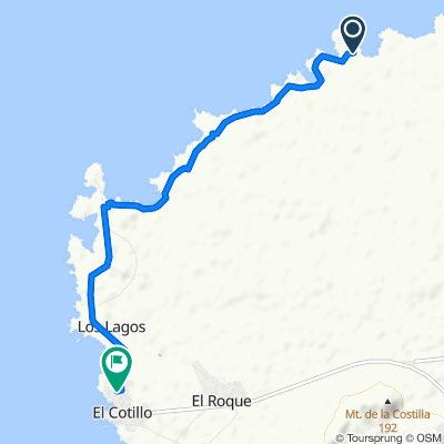 Unnamed Road, La Oliva nach Calle Santo Domingo 6, El Cotillo